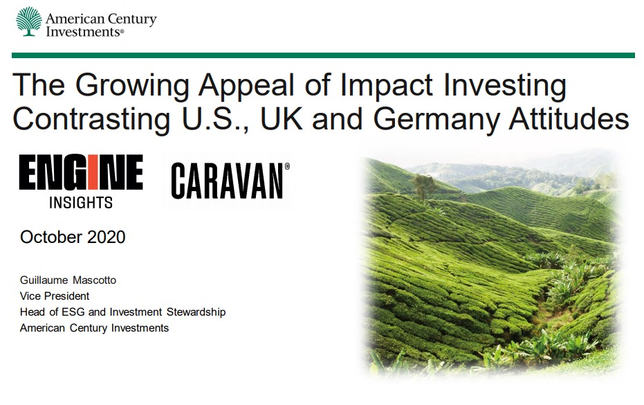 Global Study Reveals that Healthcare Remains Top of the List When it Comes to Impact Investing