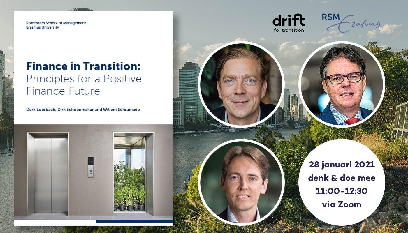 Webinar: 'Join the positive financial transition'