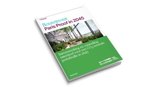 Bouwinvest pakt door op duurzaamheid met Paris Proof commitment en Position Paper