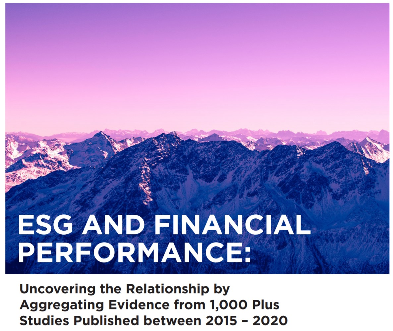 New meta-study Finds ESG Activities Drive Better Financial Performance