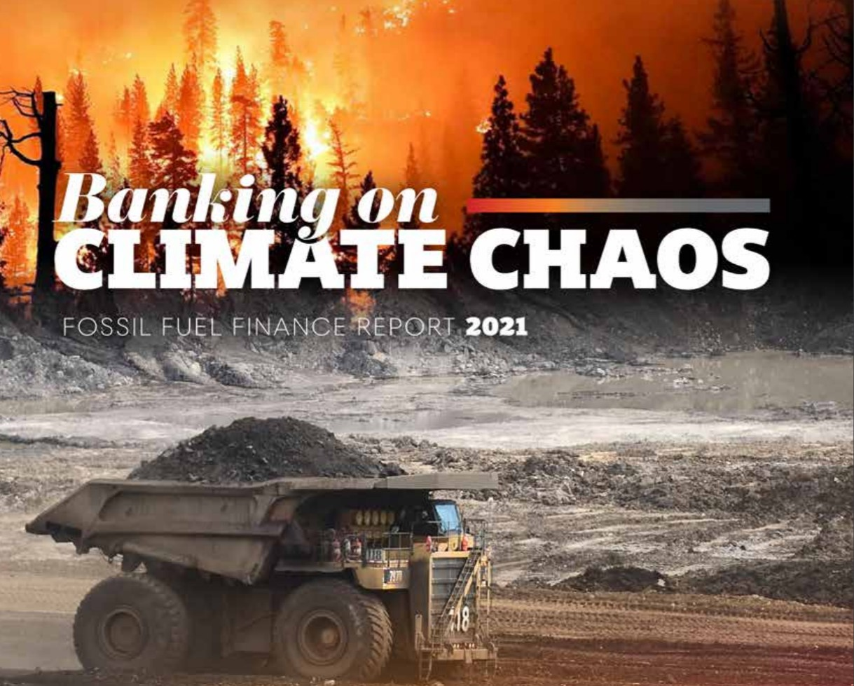 World's 60 Largest Banks Have Poured $3.8 Trillion Into Fossil Fuels Since Paris Agreement