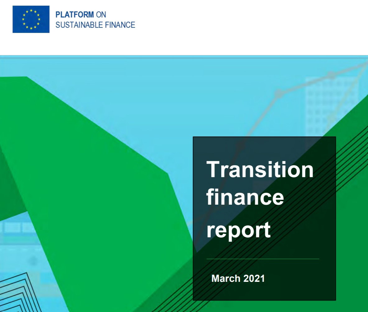 EU Commission welcomes the advice by the Platform on Sustainable Finance on financing the transition