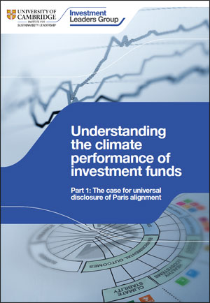 Understanding the climate performance of investment funds