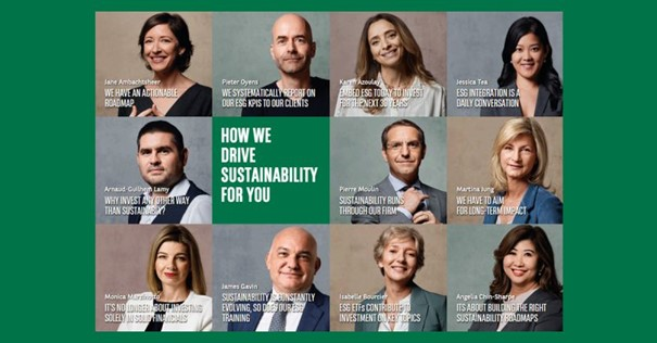 BNP Paribas Asset Management embeds its sustainable convictions into its new strapline – 'The sustainable investor for a changing world'