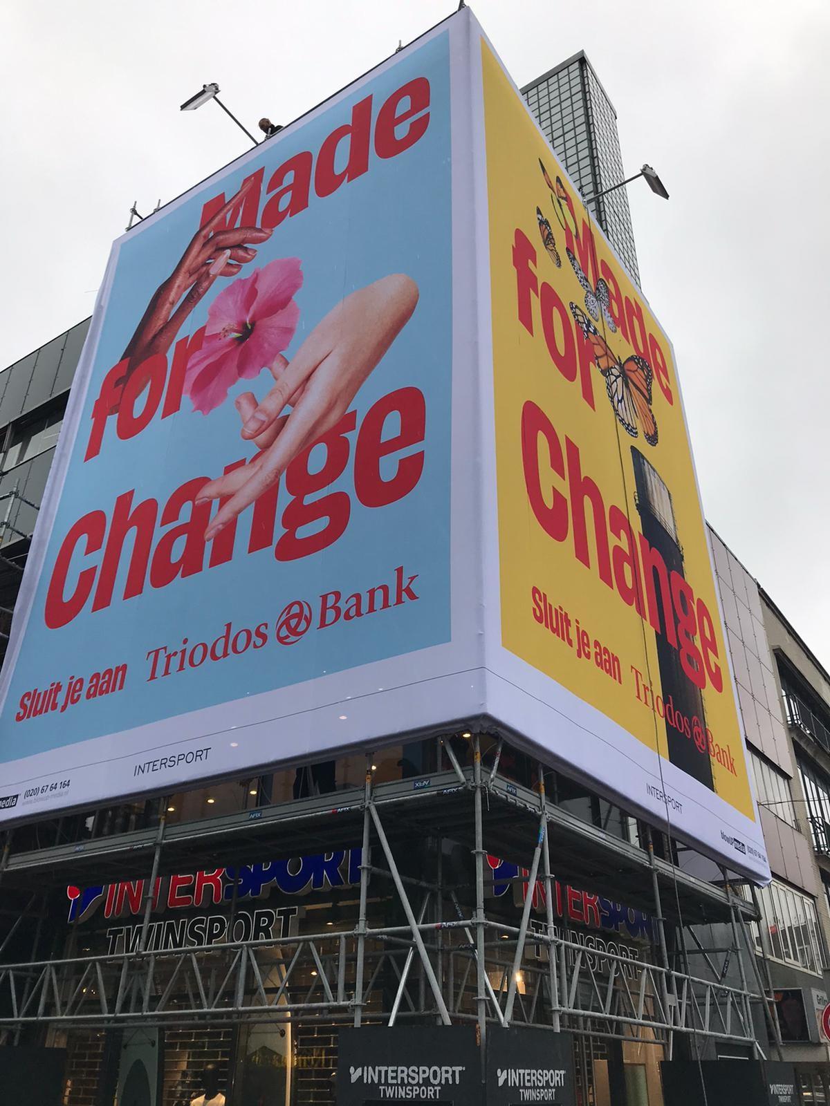 'Made for Change'-campagne Triodos Bank benadrukt dat we niet machteloos zijn