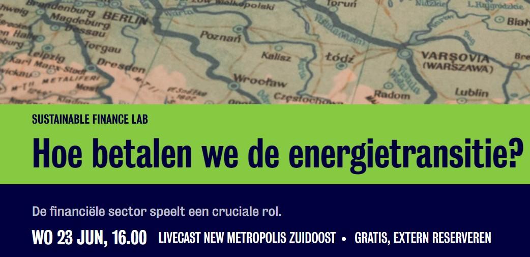 SFL-webinar 'Hoe betalen we de energietransitie?'