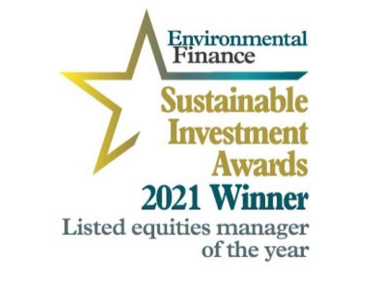 Triodos IM wins Environmental Finance award 'Listed equities manager of the year'