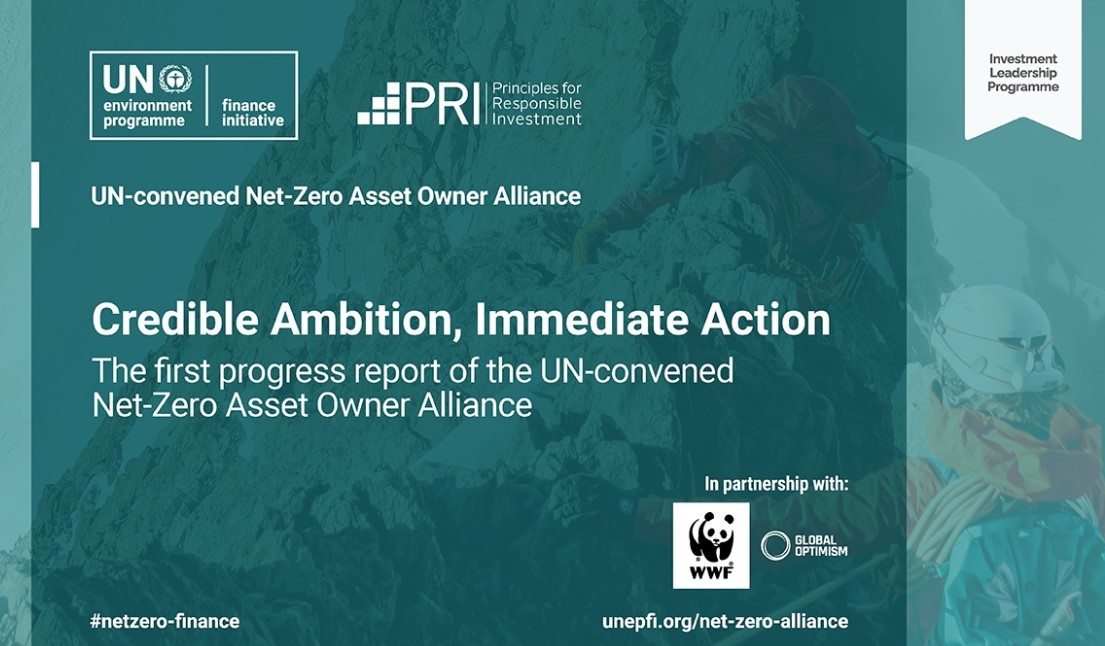 Net-Zero Asset Owner Alliance members to cut portfolio emissions 25-30% by 2025