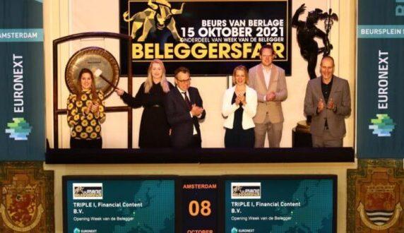 Week van de Belegger geopend met luide gongslag